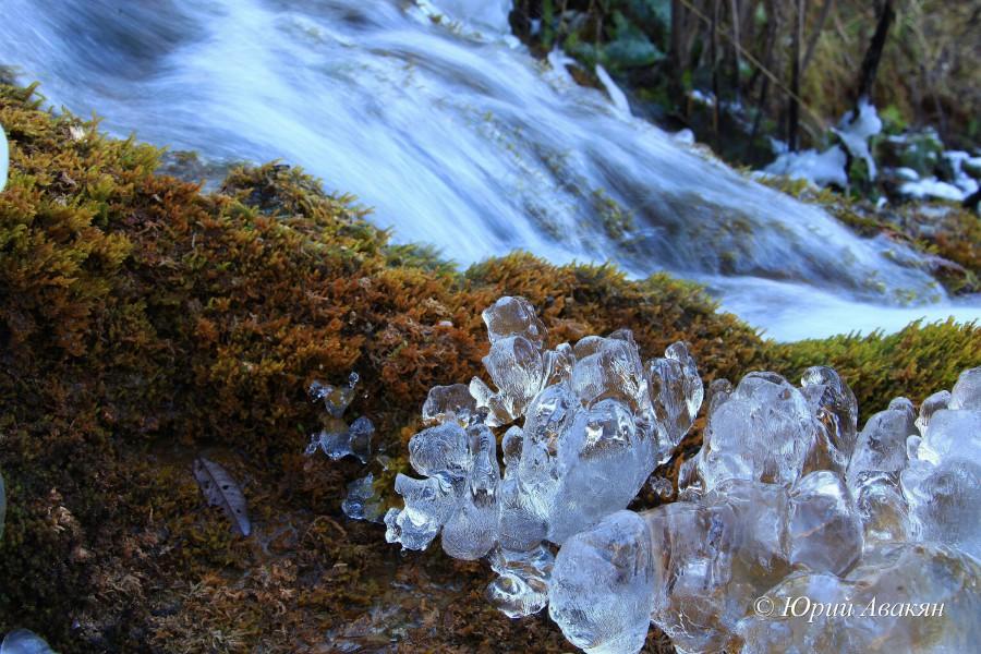 Царские водопады зимой (1)