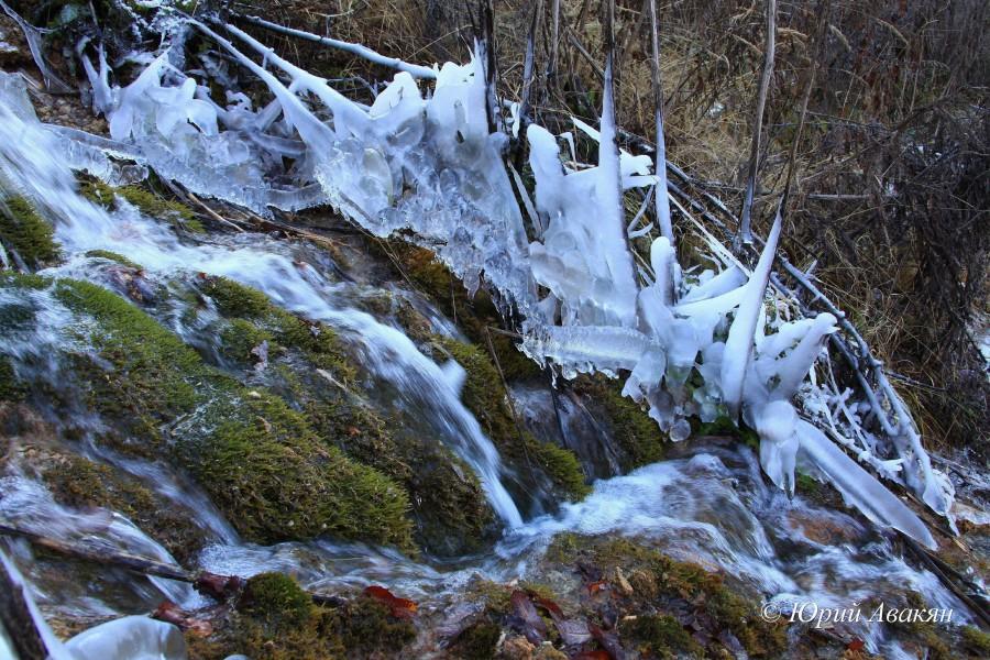 Царские водопады зимой (2)