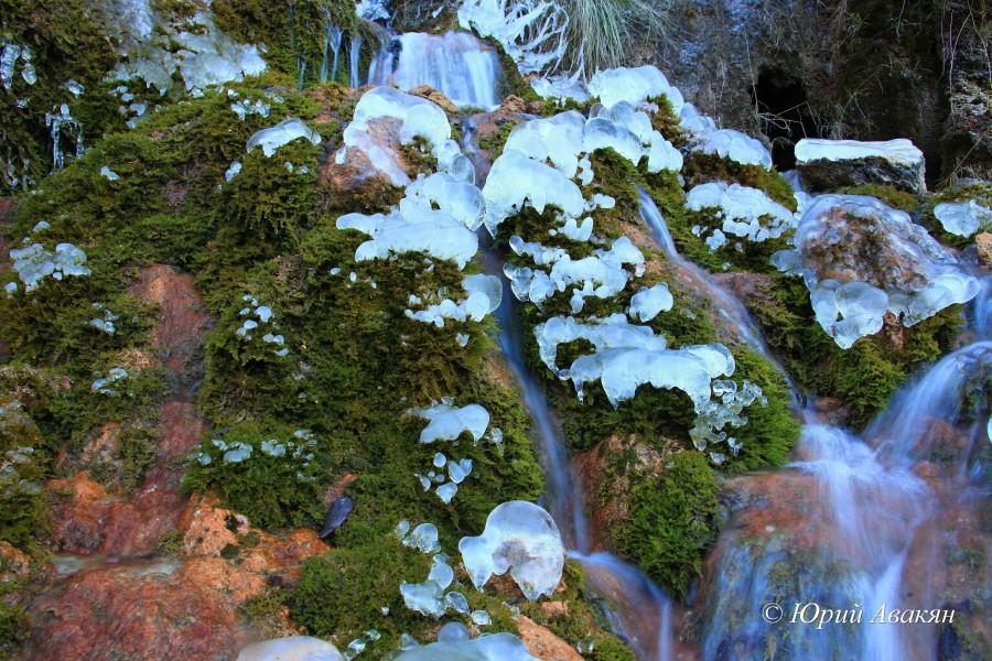 Царские водопады зимой (4)