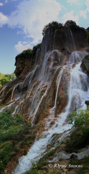 Царский водопад