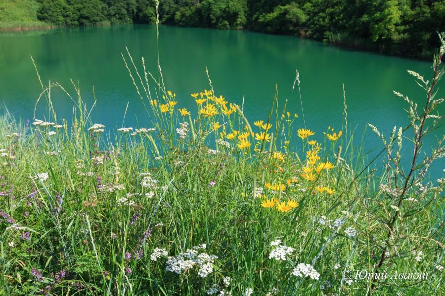 Озера Шатхурей летом
