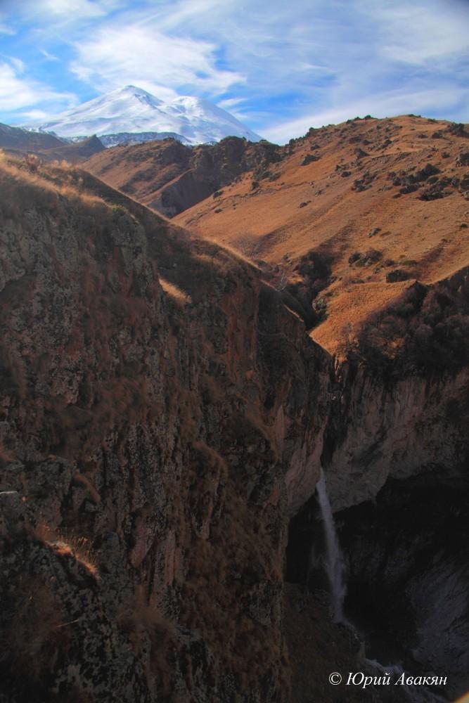 Водопад Султан на Джилы су