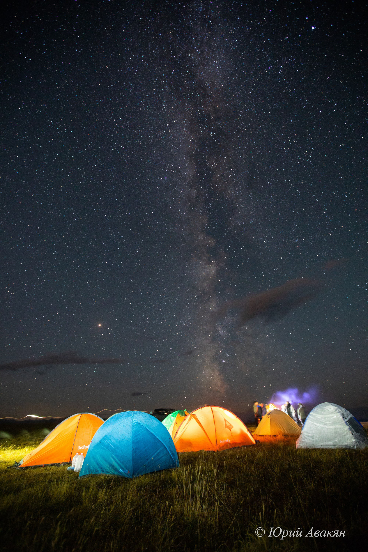 ночь на Канжоле