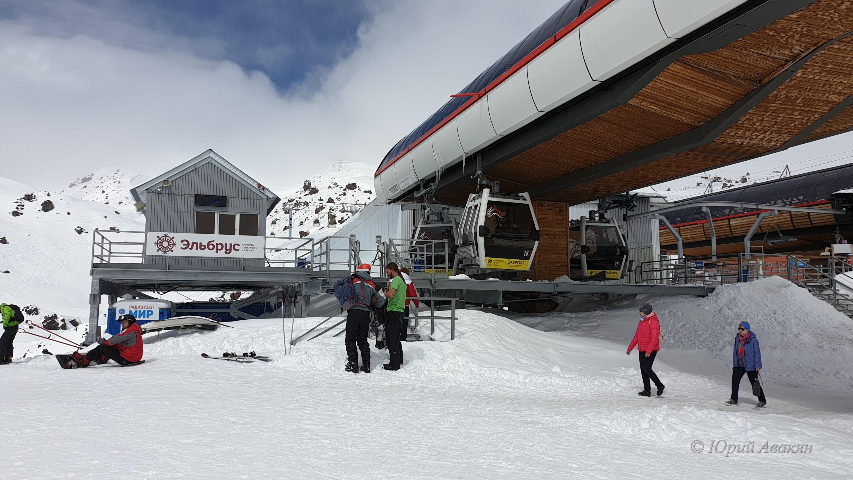 лыжи на эльбрусе