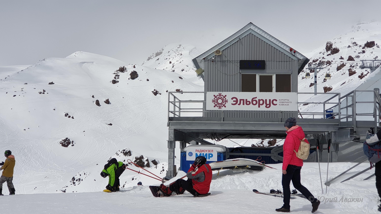 сноубординг на эльбрусе