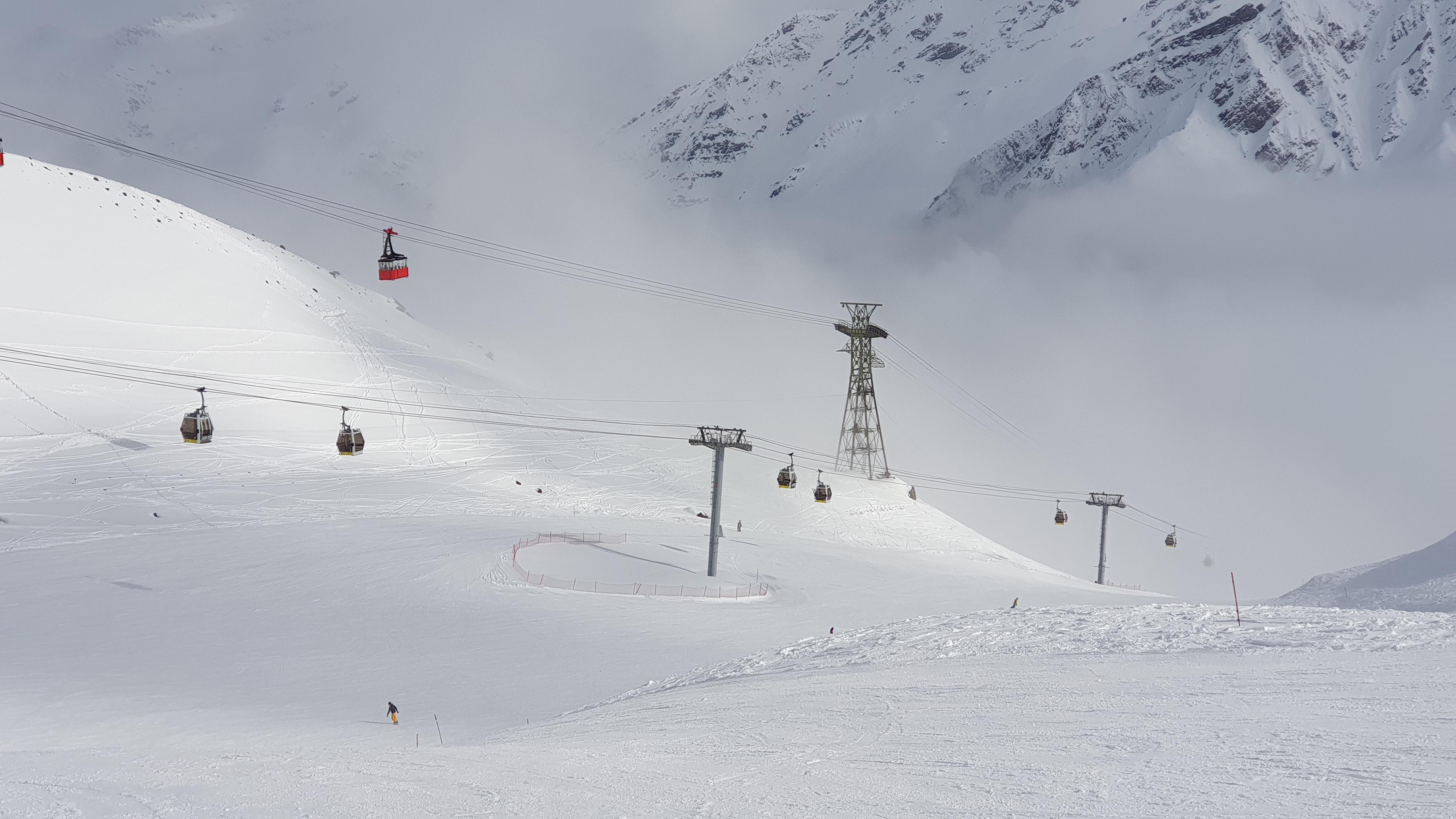 Погода на Эльбрусе в апреле