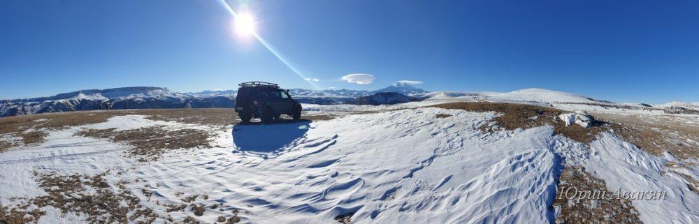 Зимняя экскурсия на Джилы-Су