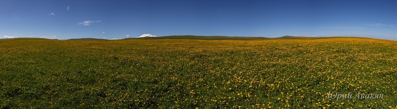 Дорога к плато Бермамыт