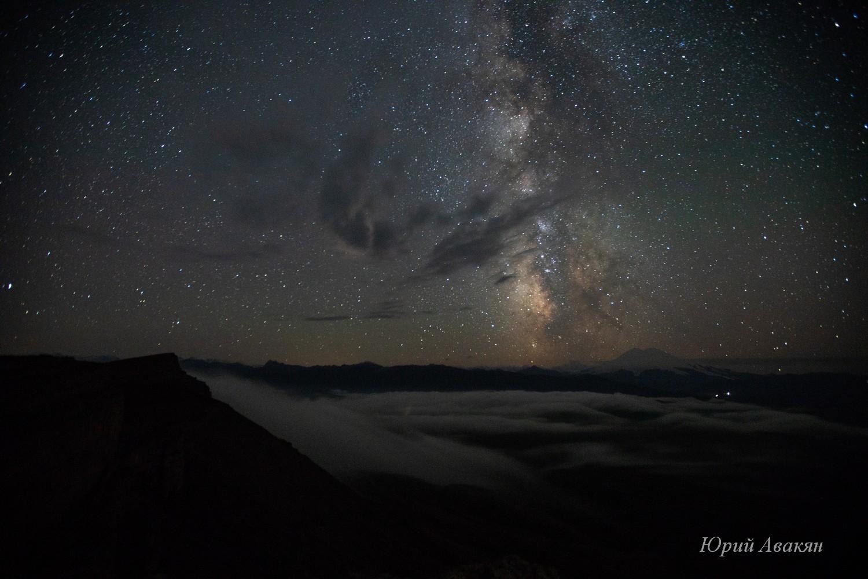 Ночное небо на Бермамытом