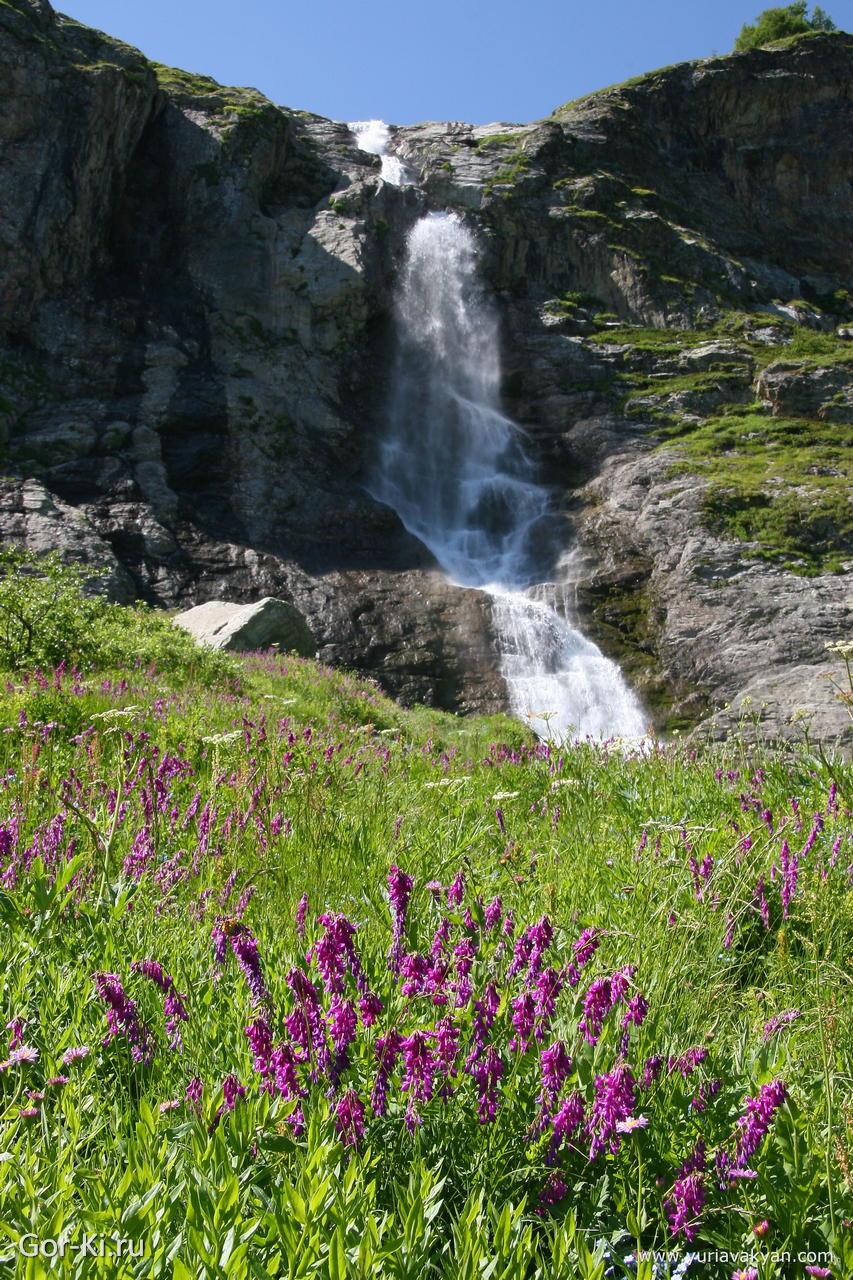 Архыз водопады